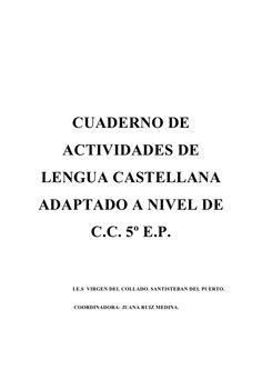 Cuaderno de lengua n.c.c. 5º e.p. by jruimed924 via slideshare