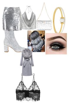 """""""Untitled #1"""" by stefania-serban on Polyvore featuring Polly Plume, Boohoo, Anissa Kermiche, Dolce&Gabbana, Anine Bing, ASAP and Sentaler"""
