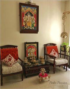 Pinkz Passion : Easy going yet undeniably Stylish (Home Tour of Rupaa Ram) - Sudhendu Pratape - Indian Living Rooms Hygge Home Interiors, Indian Interiors, Ethnic Home Decor, Indian Home Decor, Apartment Therapy, Traditional Decor, Traditional House, Indian Interior Design, Interior Ideas