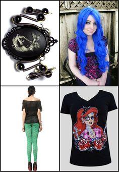 Little mermaid apparel