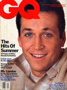 Cal Ripken Jr. for GQ, April 1984
