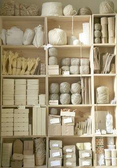organized inventory.