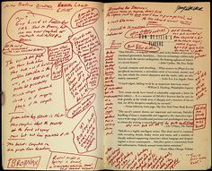 Author Graffiti -- The inside cover of David Foster Wallace's annotated copy of Players by Don DeLillo