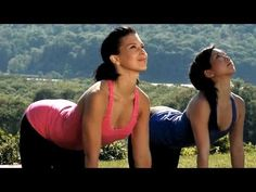 20 Minute Yoga Class With Hilaria Baldwin: Deep Stretching (Celebrity yoga instructor Hilaria Baldwin leads an invigorating Vinyasa yoga workout focusing on deep stretching, at the historic Boscobel House & Gardens estate in Garrison, NY.) - health & fitness / video tutorial