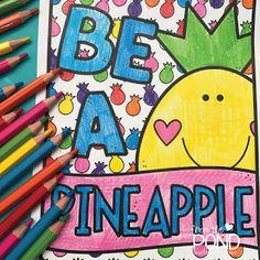 Frog Spot: Pineapple Goodies Classroom Activities, Classroom Organization, Pond, Pineapple Ideas, Kindergarten, Goodies, Nerf, Blog, Teacher