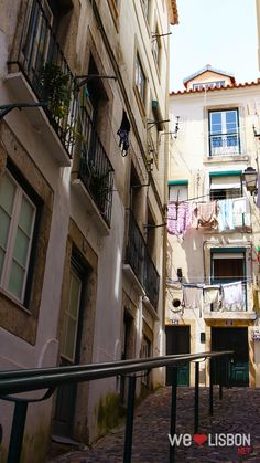 Alfama neighbourhood in Lisbon