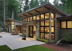 Gorgeous Modern Tiny House Design and Small Homes Coll Cabin Design, Tiny House Design, Modern House Design, Casa Loft, Modern Mountain Home, Tiny House Cabin, Cabins And Cottages, Modern Architecture, Computer Architecture