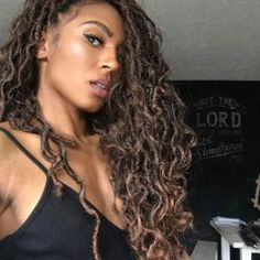 Goddess Locs Styles & Tutorials