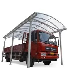 Carport aus Aluminium weiß 3,59x7,62m & Polycarbonat 6mm X-METAL Carport Aus Aluminium, Carports, Camping Car, Garage Organization, Outdoor Gear, Tent, Construction, Patio, Fixation