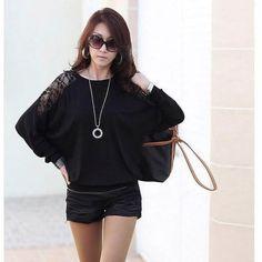 >> Click to Buy << Women Lace Shirts Body Bats Crochet Ukraine Tunic Kimono Full Sleeve Blouse Female O-neck Loose Plus Size Pullover Shirt Pattern #Affiliate