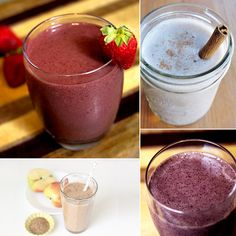 Under 300 Luscious and Low-Cal Smoothies -- because its easy to make one with 500+ calories before you know it!