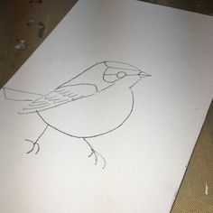 Working on a little something for my pals at #QuestNatureTours' social night @birder_justin @tailoredpants #art #birds #sundayinthestudio