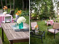 Couples shower- Backyard Party!