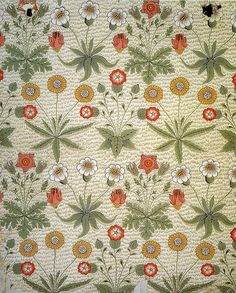 William Morris 'Daisy' 1864 by Design Decoration Craft - I have his wallpaper in my bedroom and never get tired of it.