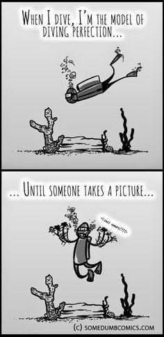 Some Dumb Comics: Scuba Duba...