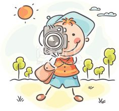 Find photographic camera stock images in HD and millions of other royalty-free stock photos, illustrations and vectors in the Shutterstock collection. Doodle Paint, Doodle Art Drawing, Baby Drawing, Drawing For Kids, Foto Doodle, Doodle On Photo, Cartoon Familie, Camera Cartoon, Stick Figure Drawing