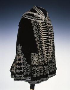 Woman's Overcoat  c. 1860  Hungary