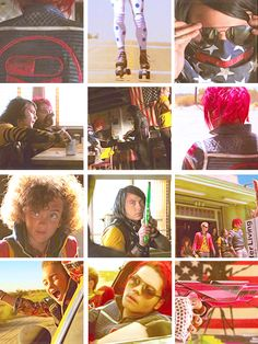 MCR Danger Days: The True Lives of the Fabulous Killjoys. GRACIE OUT THE CAR WINDOW!