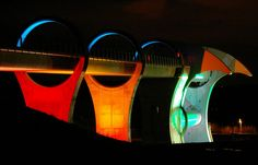 Falkirk Wheel at Night   Recent Photos The Commons Getty Collection Galleries World Map App ...