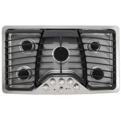 GE Profile 36 in. Gas Cooktop in Stainless Steel with 5 Burners including Power Boil Burner-PGP976SETSS - The Home Depot
