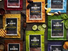 All natural beef jerky from Krave - Father's Day Gift Idea, The Jerky Sampler