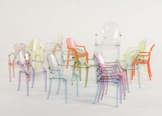 Fauteuil Louis Ghost by Philippe Starck