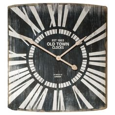Old Town Wall Clock