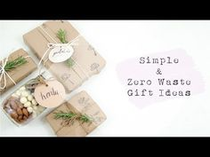 Christmas day is fast approaching and for those who are still looking for last minute christmas presents, I got you. As a minimalist and zero wa. Christmas Projects, Christmas Holidays, Endangered Species Chocolate, Gift Wrapper, Travel Kits, Zero Waste, Youtube, Wraps, Place Card Holders