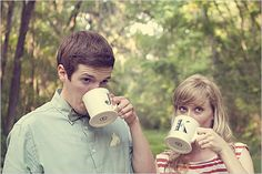 I like this one because we are both avid coffee drinkers. : )