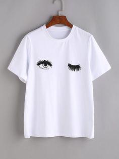 Eyes Print T shirt