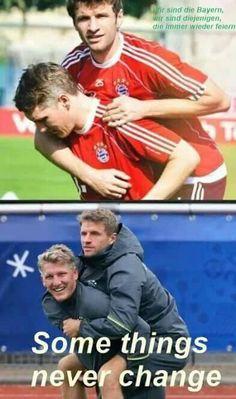 Basti and Müller #MiaSanMia