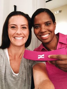 Ali Krieger and Briana Scurry. (Instagram)