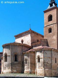 Magnífica cabecera, cimborrio y torre de San Millán, Segovia