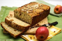 Gluten Free Apple Flax Zucchini Bread