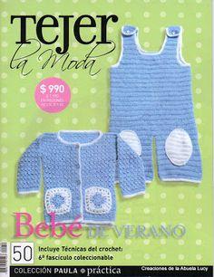 Revista: Tejer la moda BEBE (crochet o Ganchillo)   Revistas: Tejidos y Manualidades