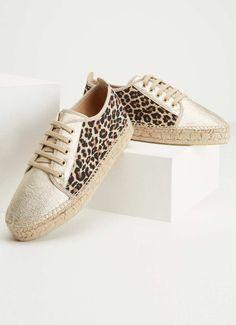 Ivy Leopard Lace Up Espadrille Walk In My Shoes, Me Too Shoes, Lace Up Espadrilles, Spring Outfits Women, Birthday Wishlist, Front Row, Ivy, Spring Fashion, Louis Vuitton