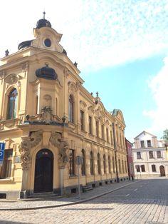 Hradec Kralove #czecrepublic European Countries, Czech Republic, Prague, Hungary, Poland, Cities, Group, Building, Places