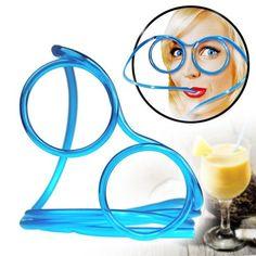 Trinkbrille - Blau