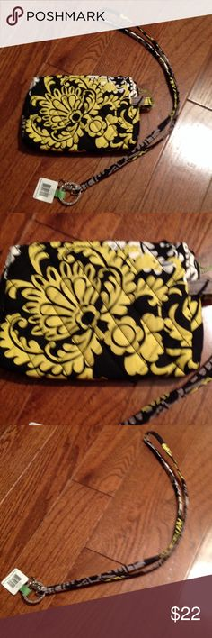 Vera Bradley small cosmetic and lanyard Pattern is Baroque, NWT, Vera Bradley Accessories
