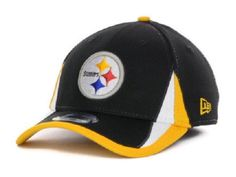 Pittsburgh Steelers New Era 39Thirty L XL Training Camp On Field Fitted Cap  Hat   6fc3fa706dcc