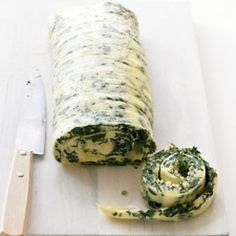 Family Style Rolled Omelet With Spinach And Cheddar