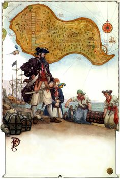Medieval-Blackbeard and the treasure pit on Oak Island Oak Island Mystery, Scavenger Hunts, Jolly Roger, Natural Scenery, Time Capsule, Nova Scotia, Maine Coon, Weird Facts, Middle Ages