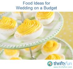 This guide contains food ideas for wedding on a budget. Sharing food with friends and family at a wedding does not have to be expensive.