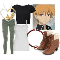 """""""Kyo Sohma"""" by theearlmustang on Polyvore"""
