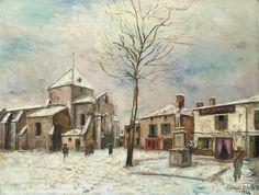 Maurice Utrillo, Eglise de Bessines