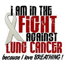 I am in the fight against lung cancer because I love breathing!