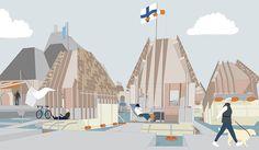 Ness Lafoy: Helsinki Archipelago Town Hall, The Bartlett School of Architecture.