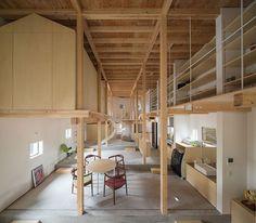 Stair of residence, Jun Igarashi