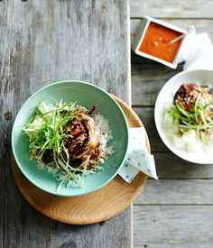 Korean-style grilled chicken recipe :: Gourmet Traveller