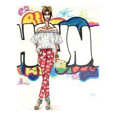The Man Repeller  #houndgraffiti #nycgraffiti #manrepeller #fashionillustration #isabelleewingart